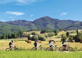 Toscana in bici e degustazione di zafferano (5)