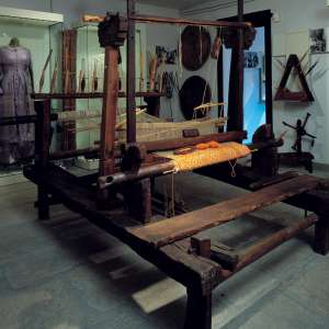 Hand loom - Museum of the mountain folk