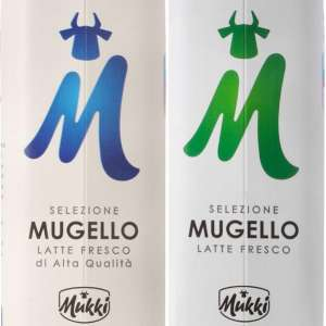 "Packages of milk ""Mukki Selezione Mugello"""